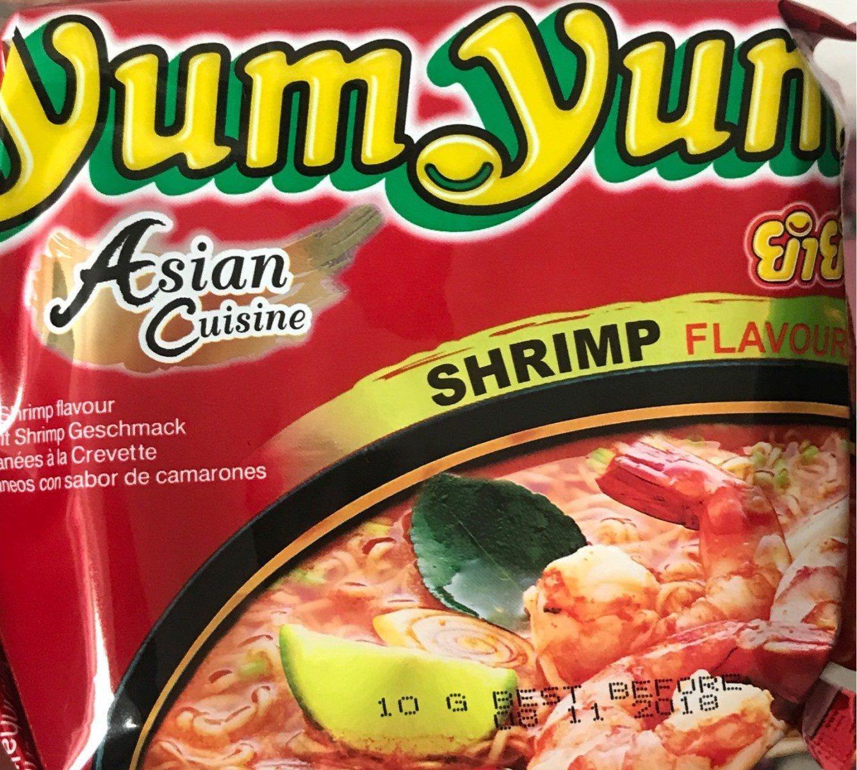 Instant noodles shrimp flavour - Product - fr