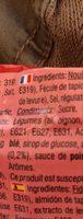 Instant noodles shrimp flavour - Ingredienti - fr