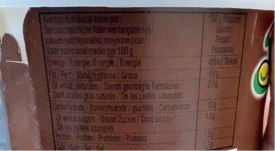 Nouilles Yumyum Boeuf Bol - Nutrition facts - fr