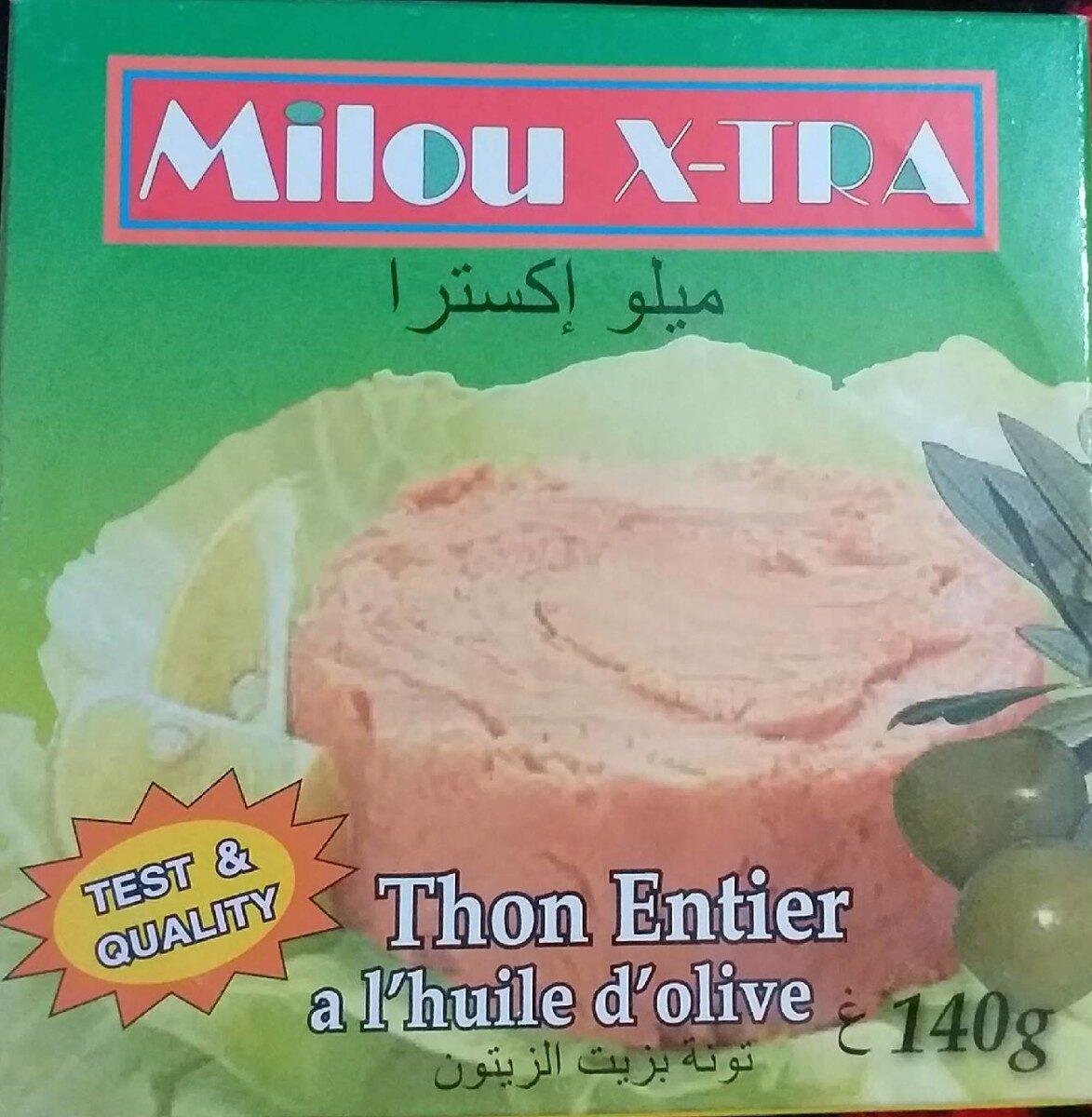 Thon Entier à l'huile d'olive - نتاج - fr