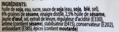 Kewpie japanese dressing - Ingrediënten - fr