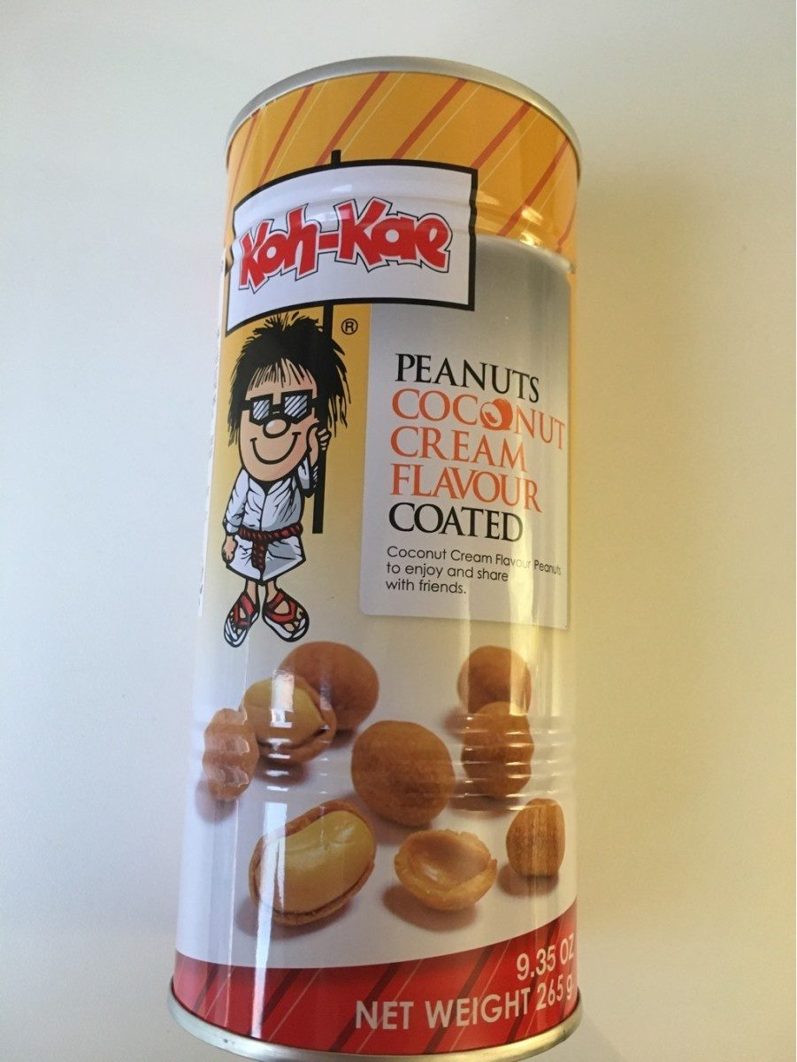 Cacahuètes enrobées arôme noix de coco - Produit