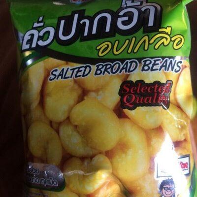 Salted broad bean - Product - en