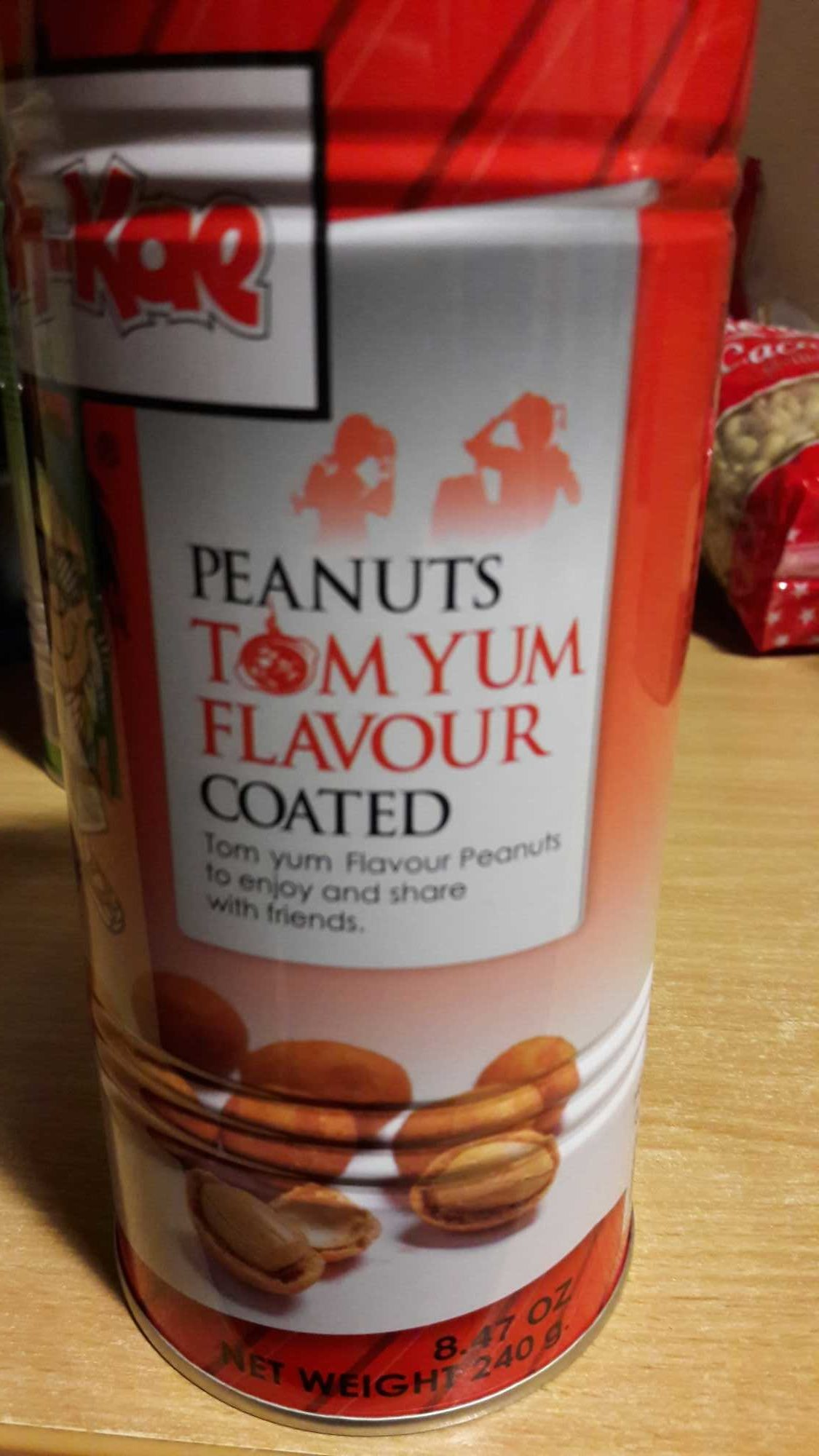 Peanuts Tom Yum Flavour Coated - Product