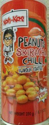 Peanuts sriracha chilli - Produit - en