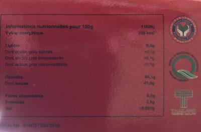 Sweet Tamarind - Ingrédients - fr