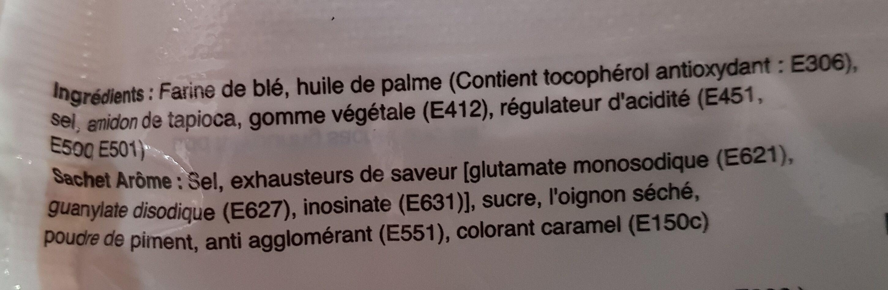 Nouilles Instantanées - Ingrediënten - fr