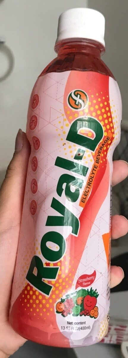 Electrolyte beverage - Product - fr