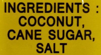 Samui Coconut Chips - 成分 - en