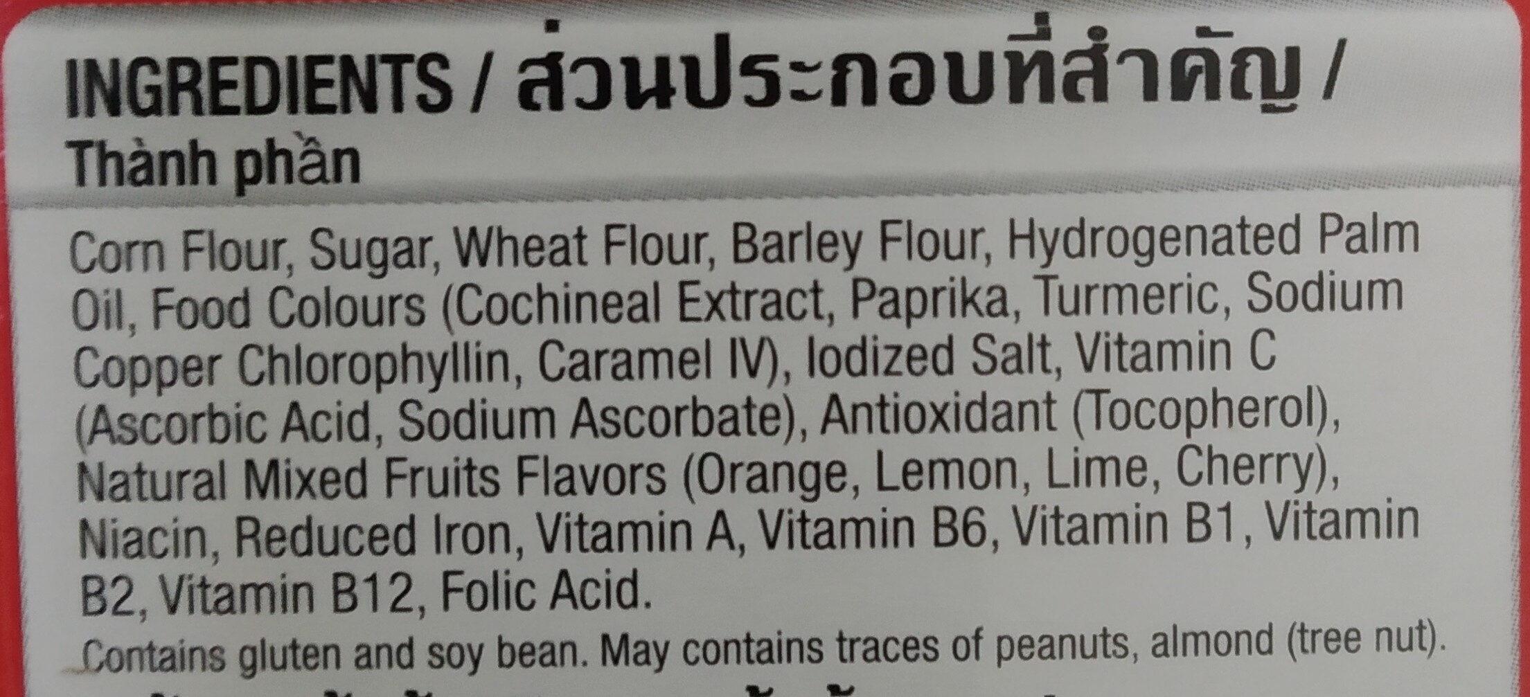 Froot Loops - Ingredients - en