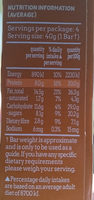 Protein Nut Bars - Nut Delight - Nutrition facts