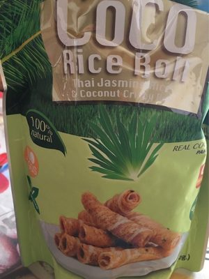 Coco rice roll - Product - fr