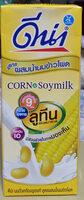 นมถั่วเหลืองผสมข้าวโพด - Produit - th