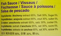 Fischsauce - Ingredients - de