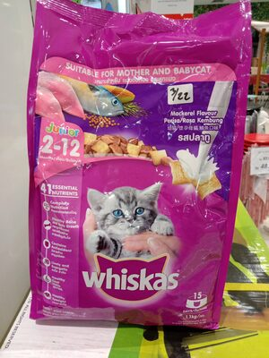 Whiskas Junior 1,1kg mackerel - Produk