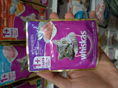 whiskas withmackerel 85g - Produk - id