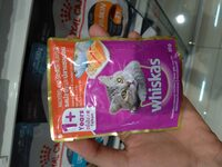 whiskas pouch mackerel and salmon flavor 85g - Produk - id