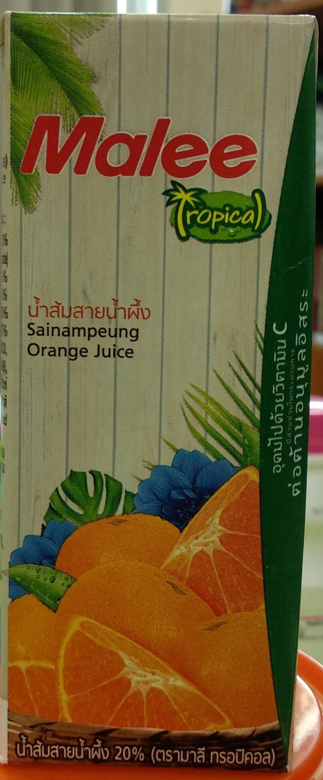 น้ำส้มสายน้ำผึ้ง ตรามาลี - Produit - th