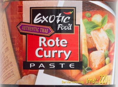 Rote curry paste - Produit - de
