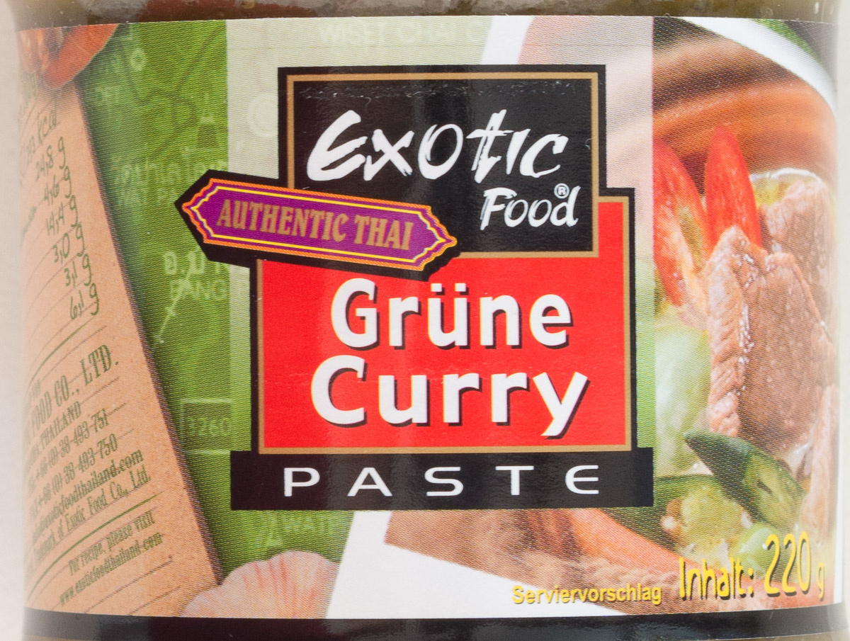 Grüne Curry Paste - Product - de