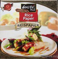 Rice paper - Produit - fr