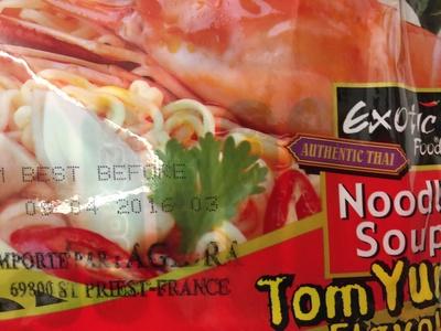 Tom yum noodle soup - Product