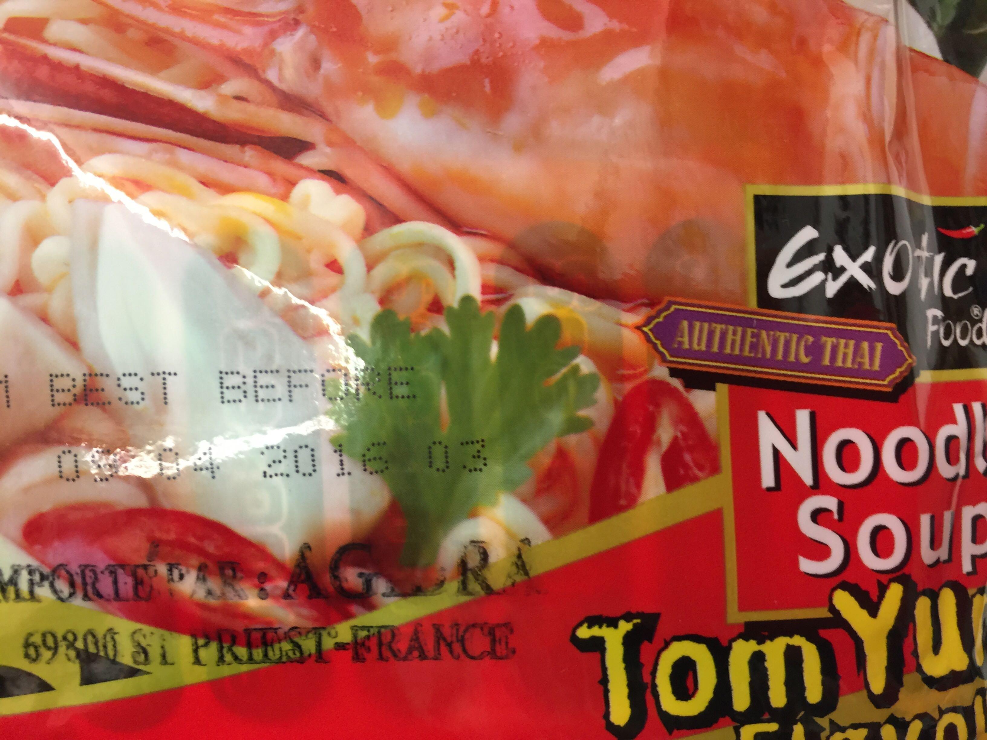 Tom yum noodle soup - Produit - fr