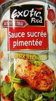 Sauce sucrée pimentée aux litchis - Produit - fr