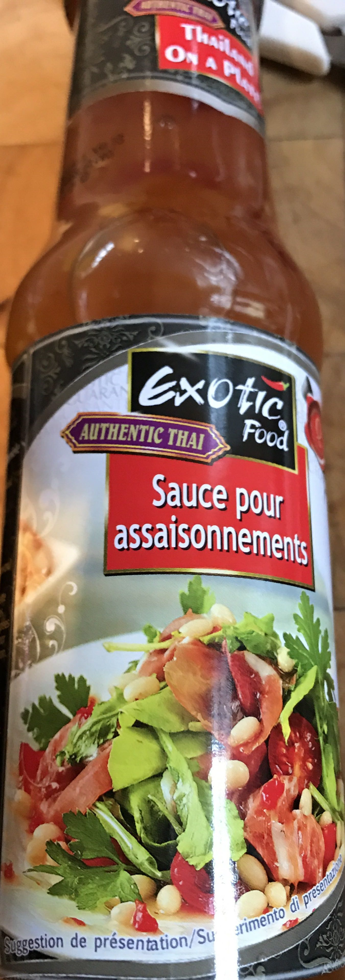 Sauce Pimentee Pour Salade - Product - fr