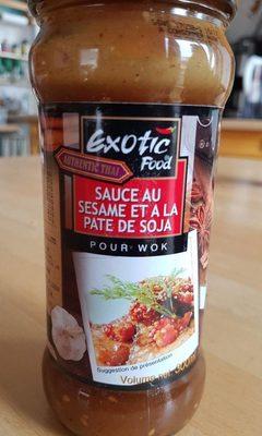 Exotic Food - Woksauce Sesam soy - Produit - fr