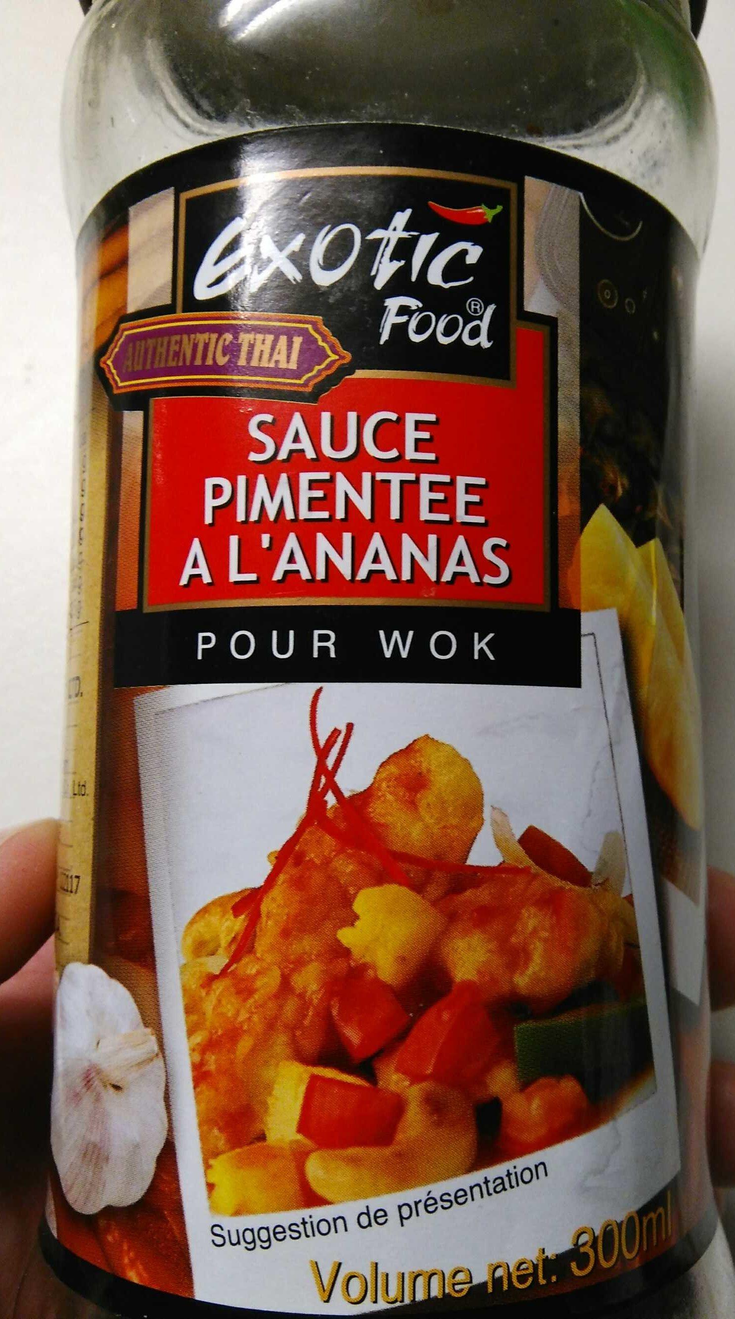 Sauce Pimentée à l'Ananas pour Wok - Produit - fr