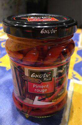 Piment rouge - Produit