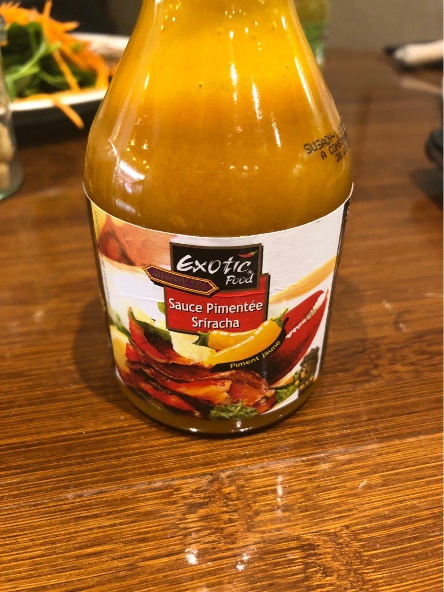Sauce pimentee sriracha - Produit - fr