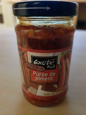 Purée de piment - Produit - fr