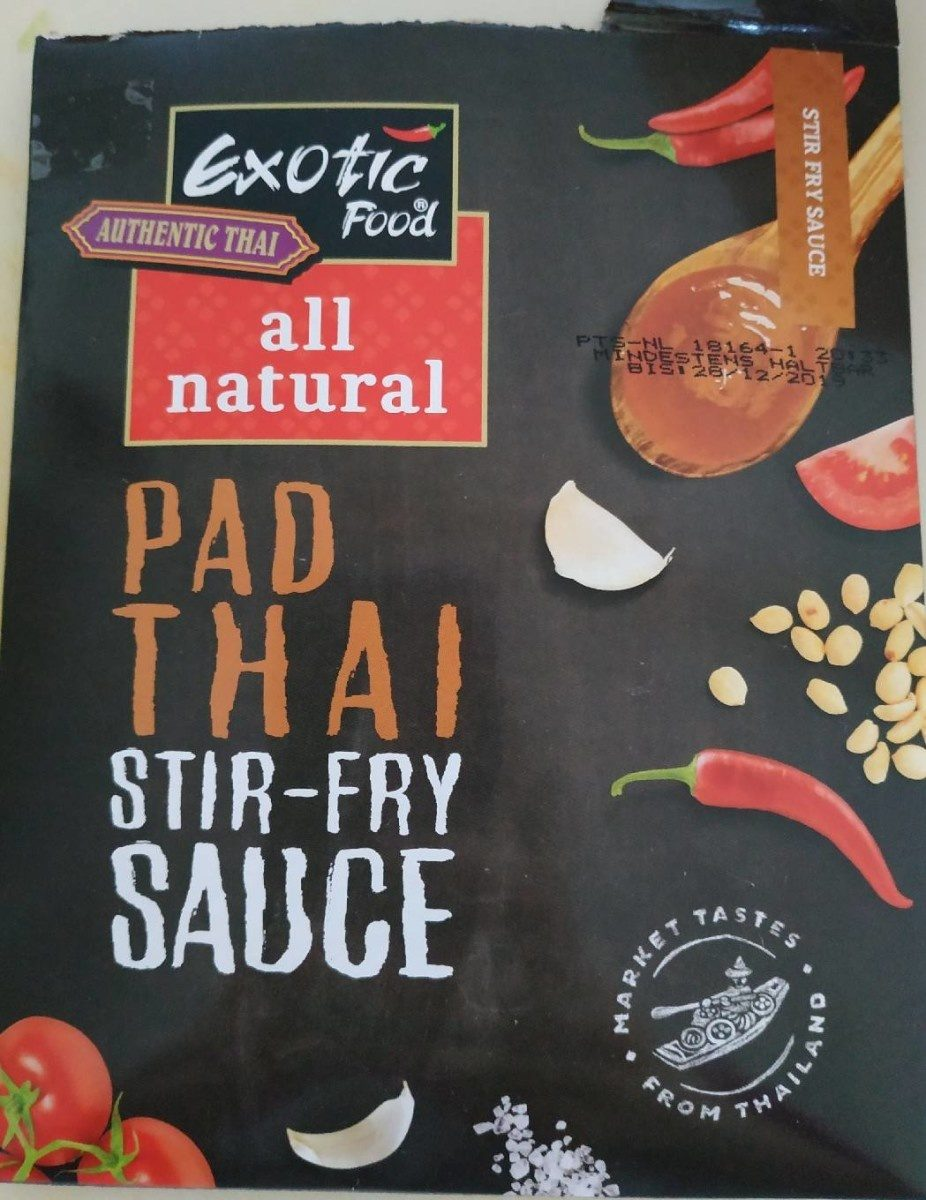 Pad thaï stir-fry sauce - Produit - fr