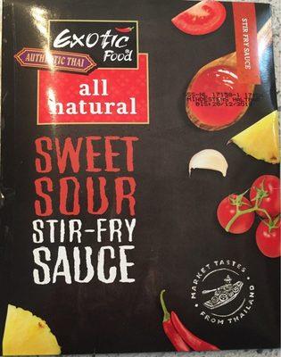 Sweet sour stir fry - Produit - fr