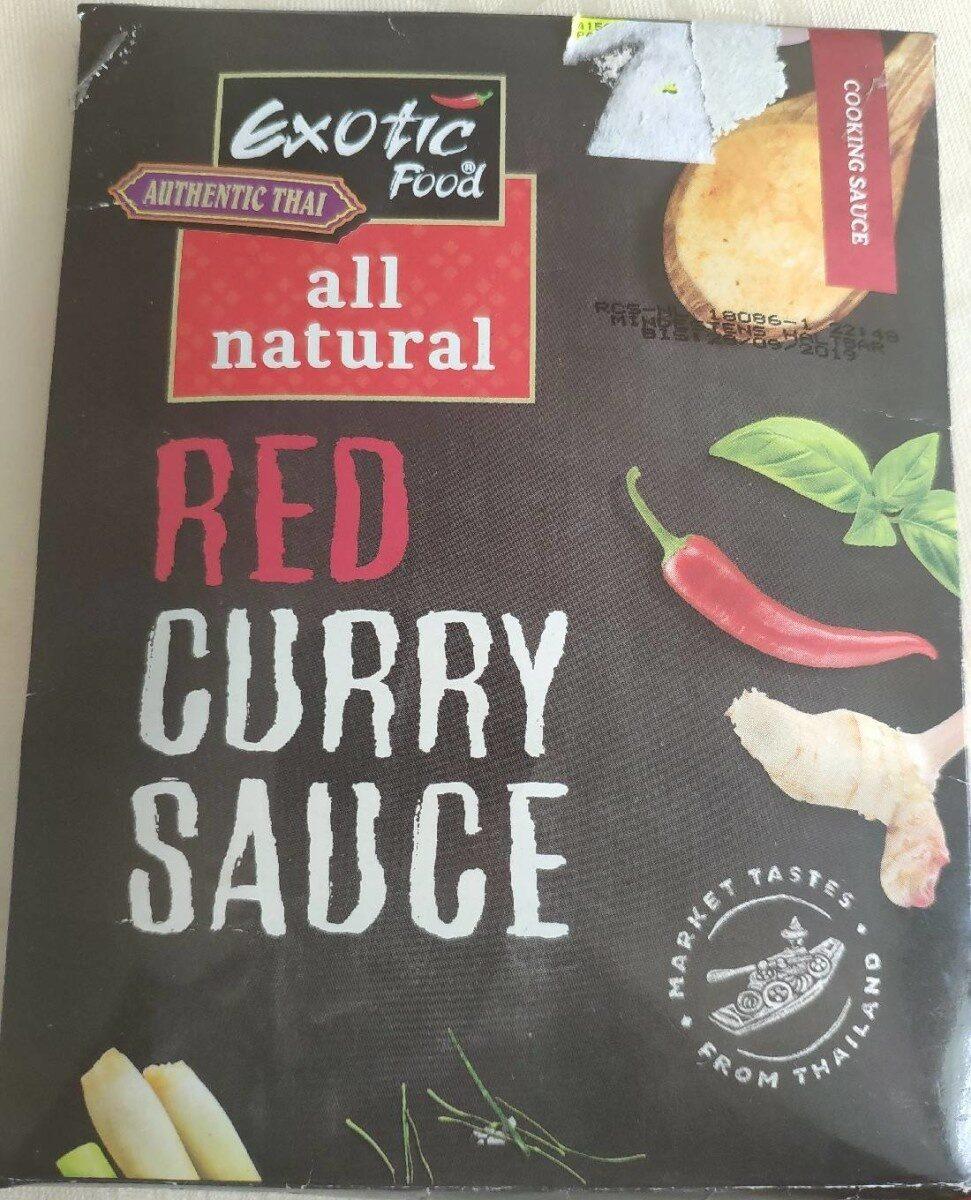 Red curry sauce - Produit - fr
