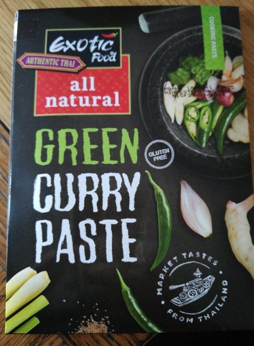 Green curry paste - Produit - fr