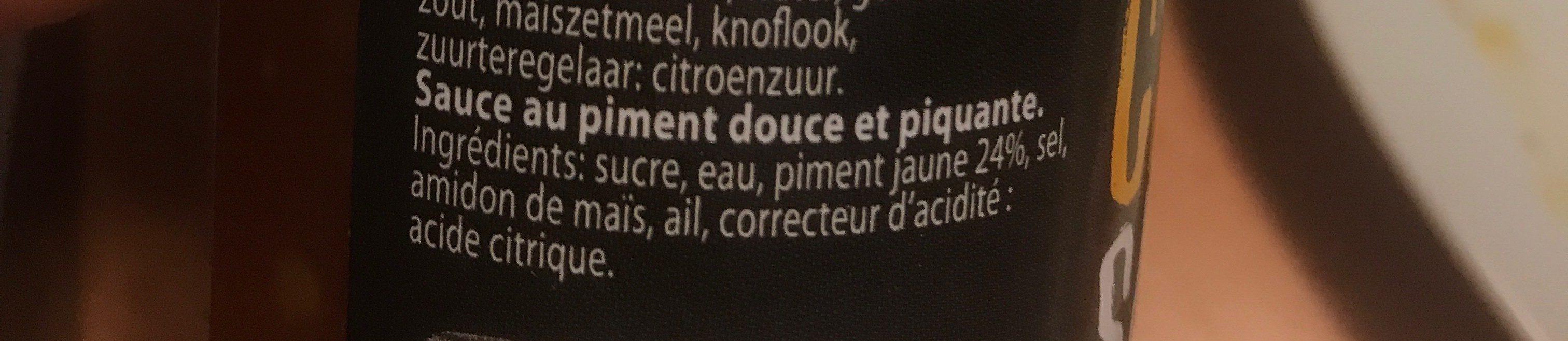 Sauce chilli - Ingrédients - fr