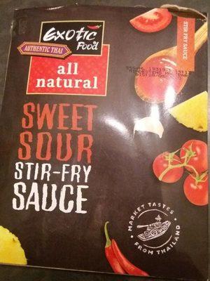 Sweet sour stir-fry sauce - Produit
