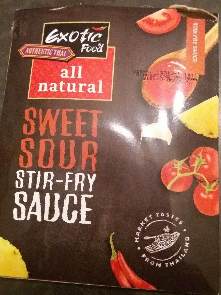 Sweet sour stir-fry sauce - Produit - fr