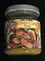 Green Curry Paste - Produit