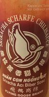 Flying Goose Brand Sriracha Scharfe Chilisauce - Produit - fr