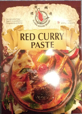 RED CURRY PASTE - Produit
