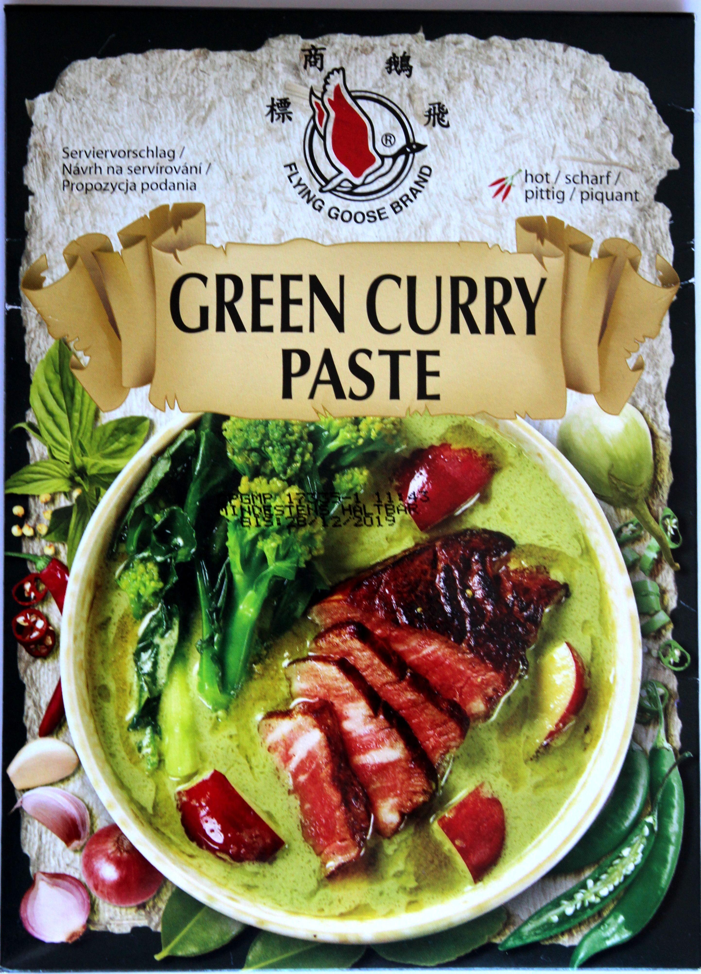 Green curry paste - Produkt - de