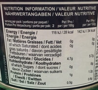 Water Chestnut - Nutrition facts - fr
