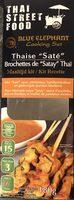 "Brochettes de ""Satay"" Thaï - Product"