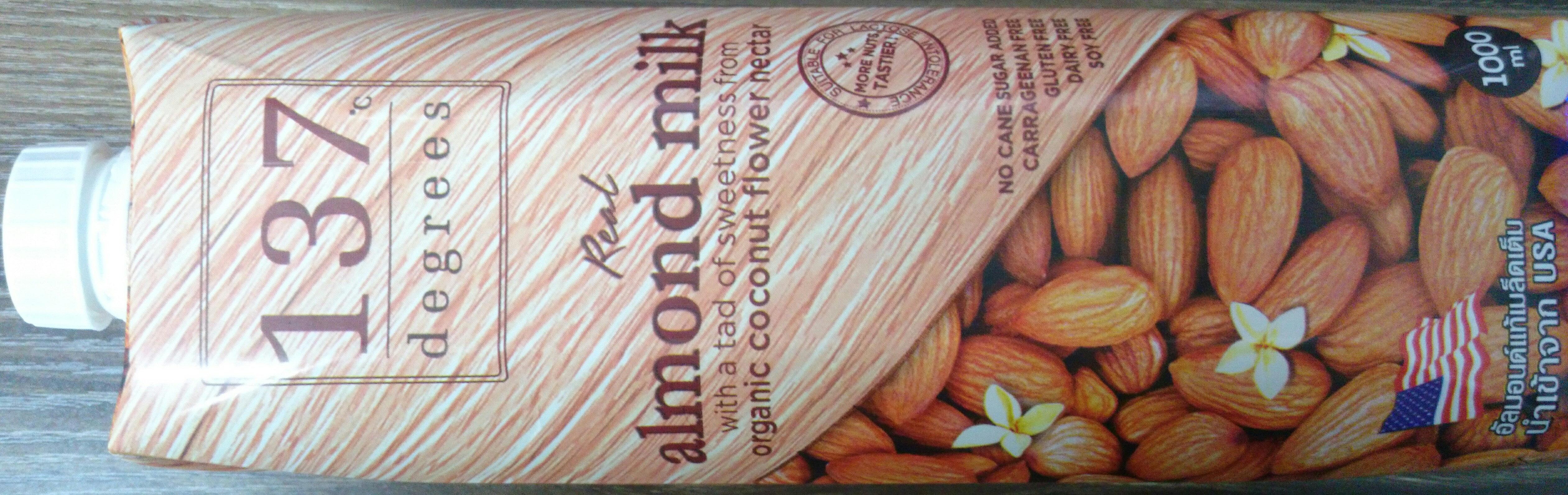 Real Almond Milk - Sản phẩm - en