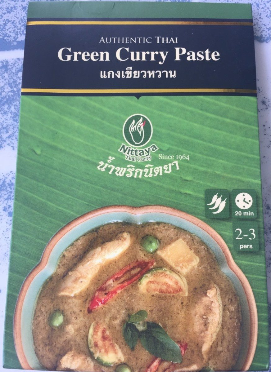 Pate De Curry Vert Nittaya - Product