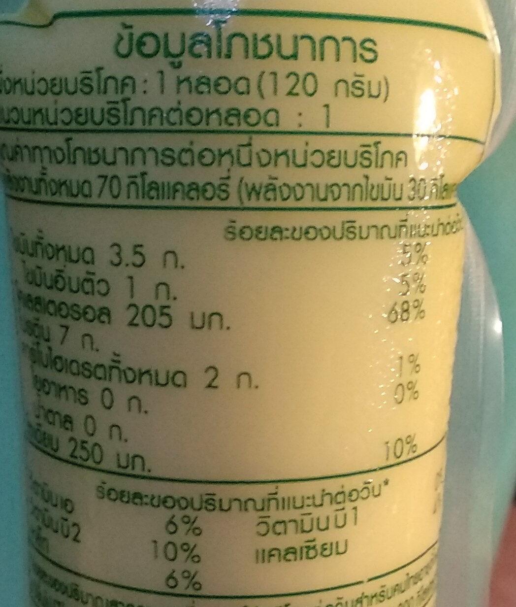 เต้าหู้ไข่ไก่ - Nutrition facts